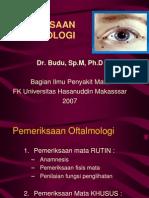 Pemeriksaan Oftamologi
