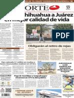 Periódico Norte de Ciudad Juárez edición impresa del 17 marzo del 2014