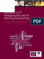 Education 2.0 Designing the Web for Teaching and Learning