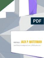 Architecture Portfolio Jack P Waterman 2014