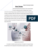 Gene Therapy Assignment