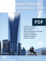Mongolia Real Estate Report