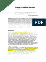 Orientación Educativa México 1995-2005