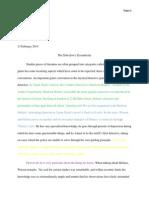 cd essay genre 2nd draft