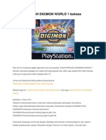 Walkthrough Digimon World 1 Bahasa Indonesia