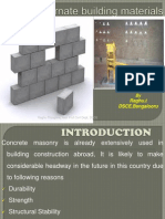 Stabilized Mud Blocks
