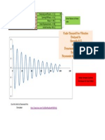 Simulation of Damped and Undamped Free Vibration