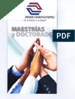 Informacion Chapultepec Materias