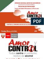Programa Amor y Control - Alcoholismo