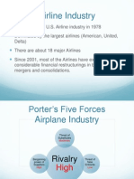 Question 1 5 Porters Airline Industry