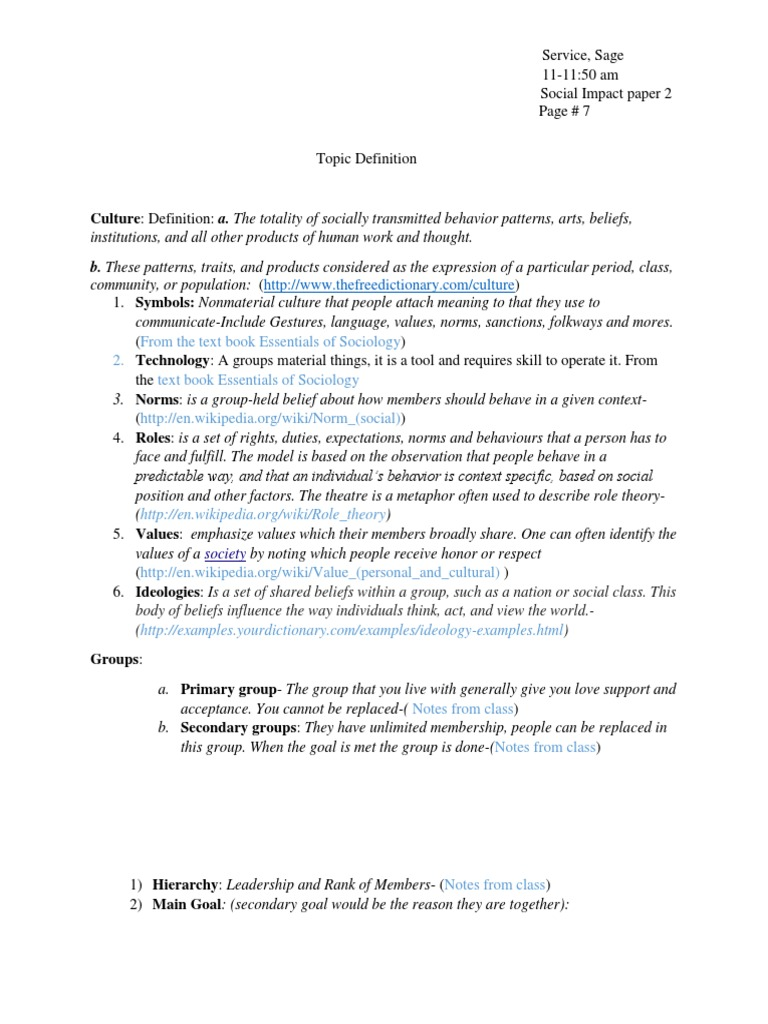 social impact paper 2 | norm (social) | deviance (sociology)
