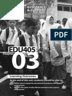 EDU 405 - Chapter 03