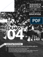 EDU 405 - Chapter 04