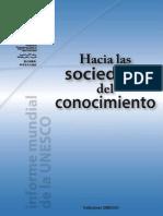 UNESCO, 2005_Sociedad Del Conocimiento