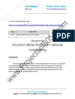 1250 Alcohol Detection With Vehicle Controlling