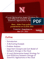 A Local Optimization Based Strategy for Cost-Effective Datasets Storage of Scientific Applications in the Cloud (1)