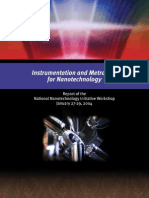 Instrumentation and Metrology for Nanotechnology