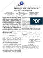 Embedded GSM Message Interface Hardware And