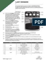 Manual - Behringer Delay-dd600