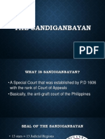 What is the Sandiganbayan?