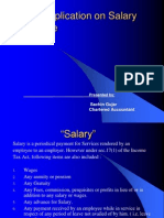 Salaries Presentation