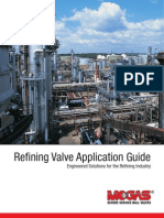 MOGAS Refining Valve Application Guide