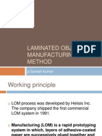 Laminated Object Manufacturing Method
