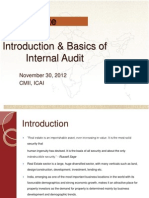 Realestate Basic Introduction to Internal Audit