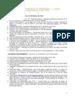 Informação Paroquial de 16 a 23 de Março de 2014