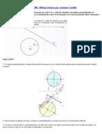 Circunferencia en Diedrico 995