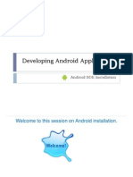 Installing Android SDK_Demo