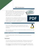 Tutorial UNIX