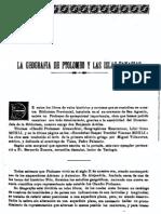 La Geografa de Ptolomeo y Las Islas Canarias