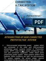 Grid Connected PV System