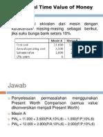 Benefit-Cost Ratio
