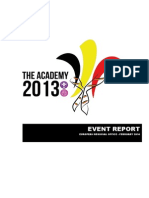 Report of the Academy 2013