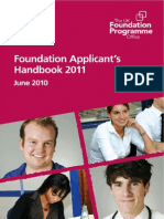Foundation Applicants Handbook 2011