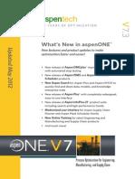 What is New in AspenONE V7.3 Brochure