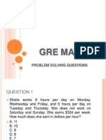 Official Gre? Quantitative Reasoning Practice Questions Volume One Pdf