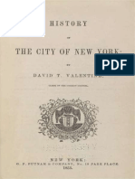 Valentine, D. T. - History of the City of New York (1853)