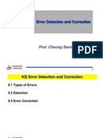 Chapter9(Error Detection and Correction)