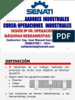 OPERACIONES INDUSTRIALES - SESION 06  - TALADRADO