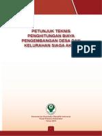 Buku Juknis Biaya Pengembangan Desa Siaga Aktif