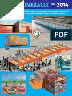 Somersault Catalogo 2014Catalogo Produzione Playground Somersault - Fabbrica artigianale di Tappeti Elastici, Gonfiabili e attrazioni per bambini Abruzzo.Compressed