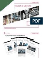 Caldon Ultrasonic Meters - Brief Summary