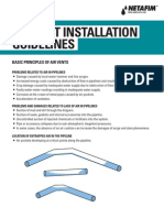 Air Vent Installation Guidelines