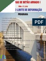 FCT/UNL Betão Armado I - Deformação
