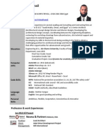 Lead Architect CV