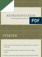 Representation Theories
