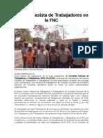 Organización Obrera en la FNC